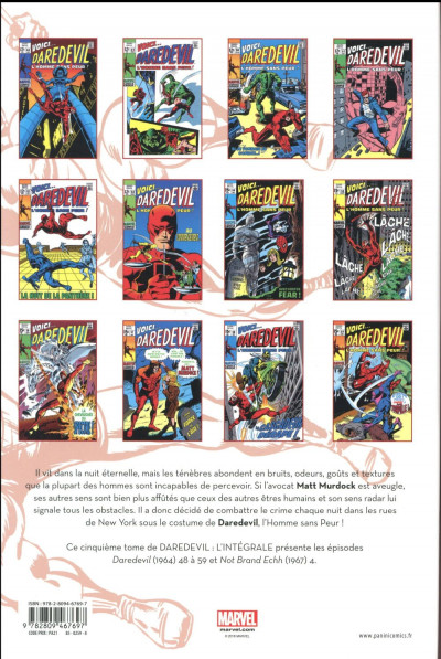Dos Daredevil - intégrale tome 5
