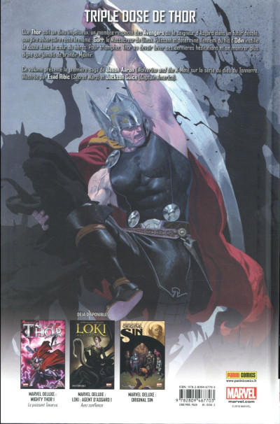 Dos Thor - Dieu du tonnerre tome 1
