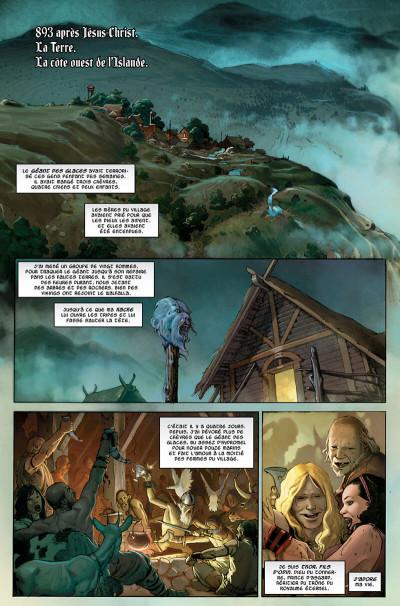 Page 6 Thor - Dieu du tonnerre tome 1