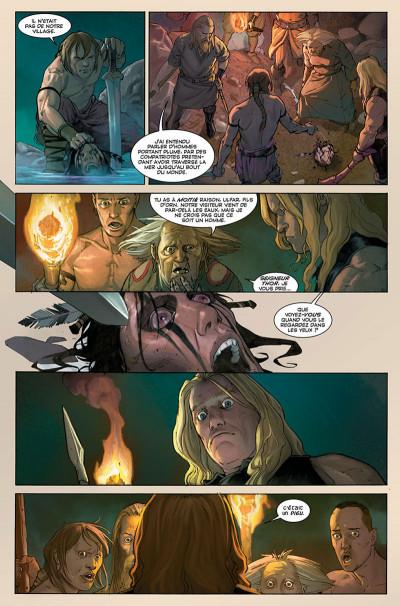 Page 8 Thor - Dieu du tonnerre tome 1