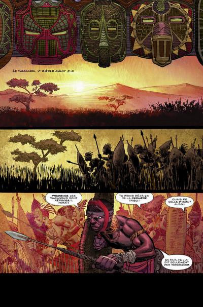 Page 6 Black Panther par Hudlin et Romita Jr tome 1