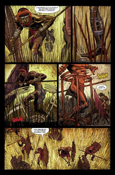 Page 7 Black Panther par Hudlin et Romita Jr tome 1