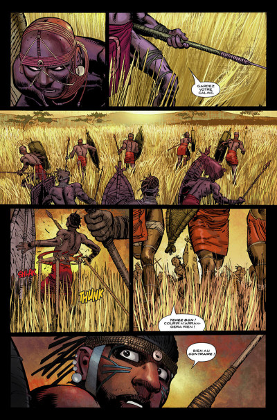 Page 8 Black Panther par Hudlin et Romita Jr tome 1