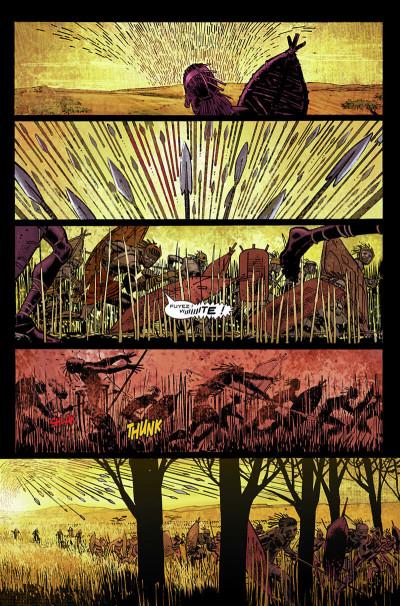 Page 9 Black Panther par Hudlin et Romita Jr tome 1