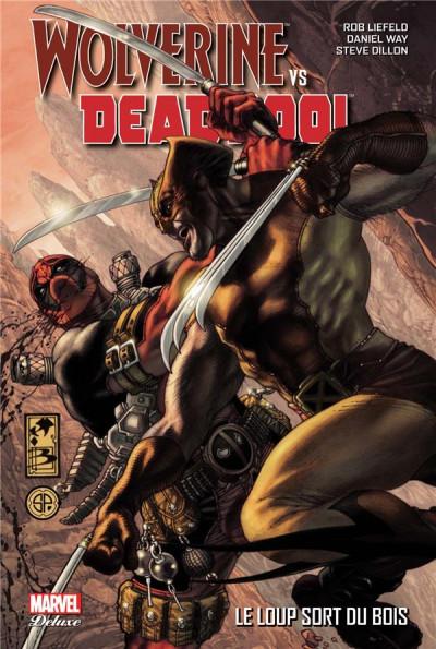 Couverture Wolverine VS Deadpool