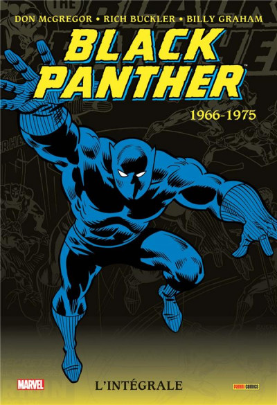Couverture Black panther - intégrale tome 1