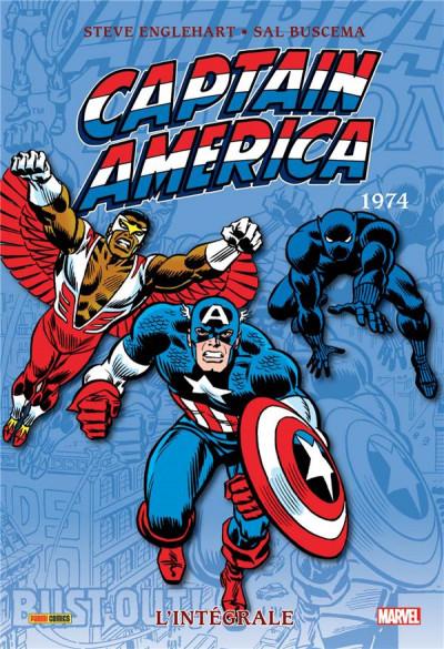 Couverture Captain America - intégrale tome 8