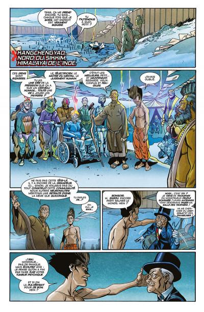 Page 0 X-men - légion tome 1