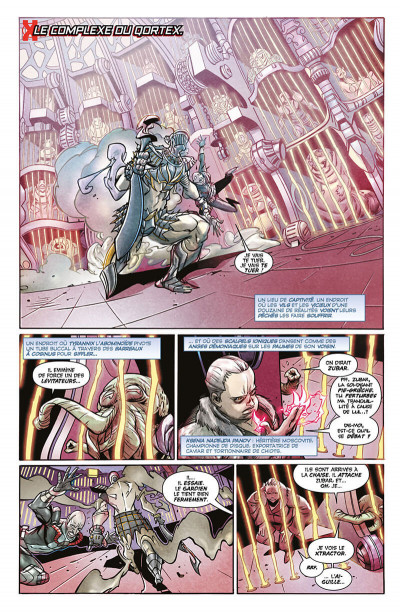 Page 6 X-men - légion tome 1