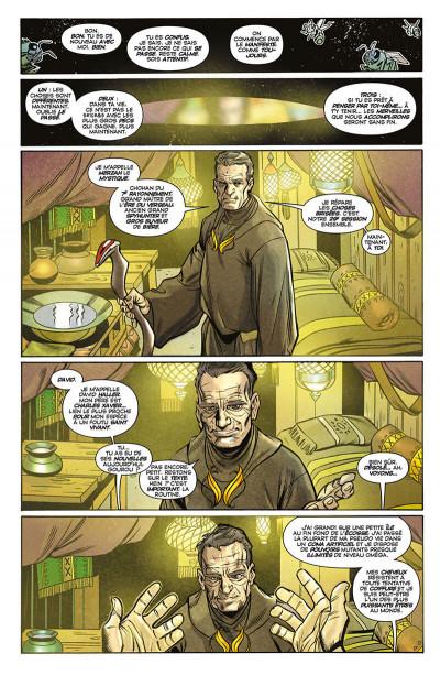 Page 8 X-men - légion tome 1