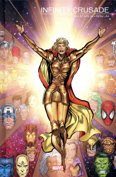 Couverture Infinity crusade