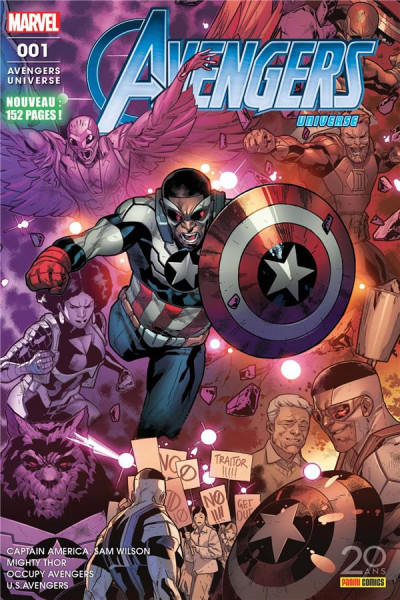 Couverture Avengers universe tome 1