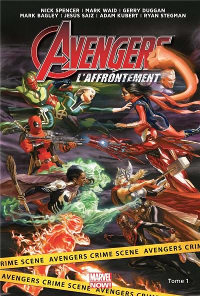 Couverture Avengers l'affrontement tome 1