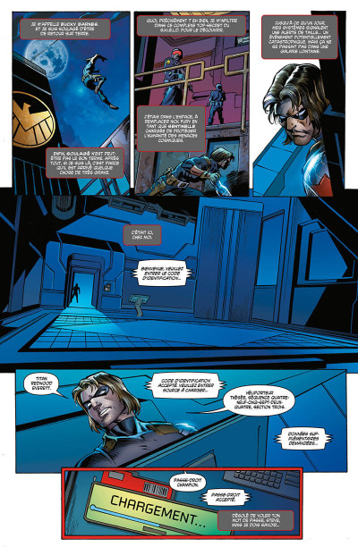 Page 4 Avengers l'affrontement tome 1