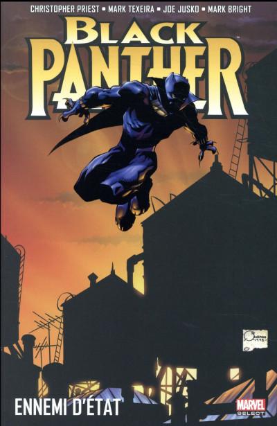 Couverture Black Panther par Christopher Priest tome 1