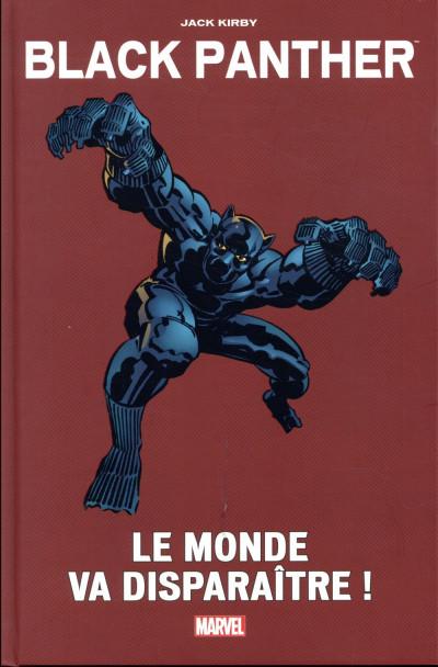 Couverture Black Panther - le monde va disparaitre !