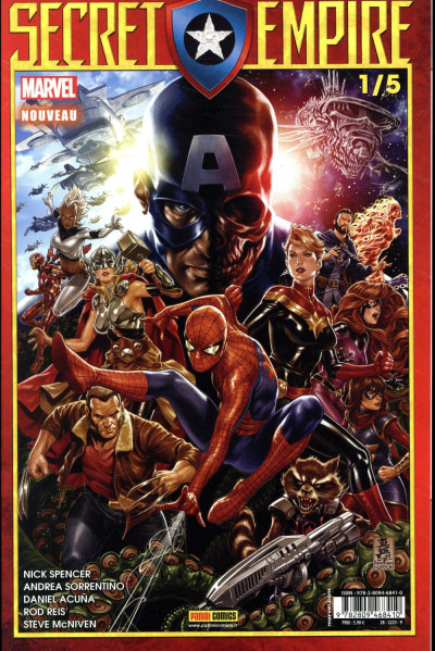 Couverture Secret empire tome 1