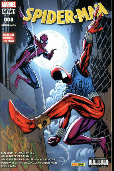 Couverture Spider-man tome 8