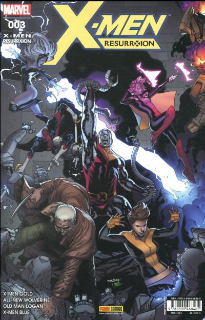 Couverture X-men - resurrxion tome 3