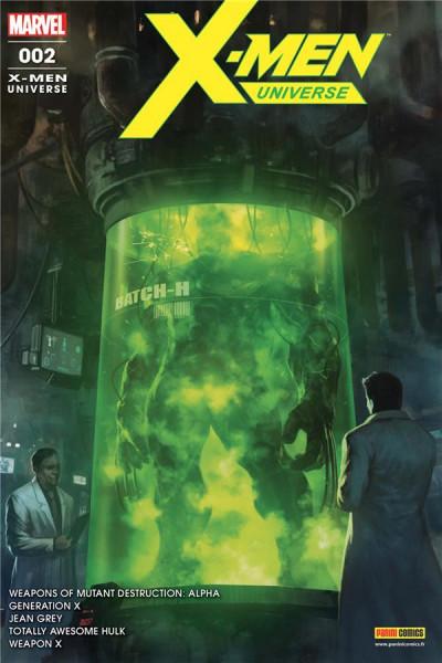 Couverture X-men universe tome 2