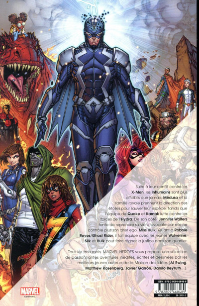 Dos Marvel heroes tome 1