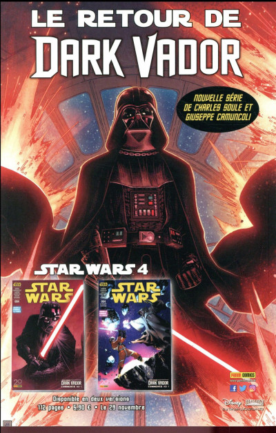 Dos Star wars - fascicule HS tome 1 - couverture 1/2