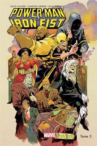 Couverture Power Man et Iron Fist tome 3
