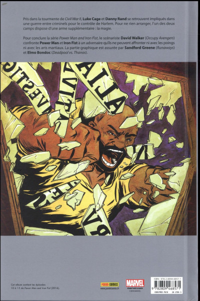 Dos Power Man et Iron Fist tome 3