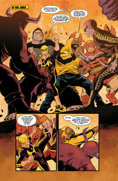 Page 8 Power Man et Iron Fist tome 3