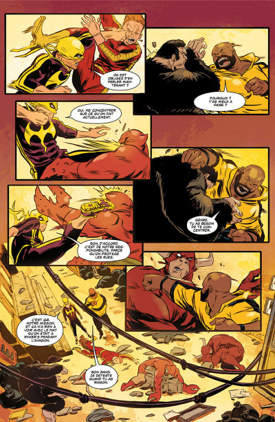 Page 9 Power Man et Iron Fist tome 3