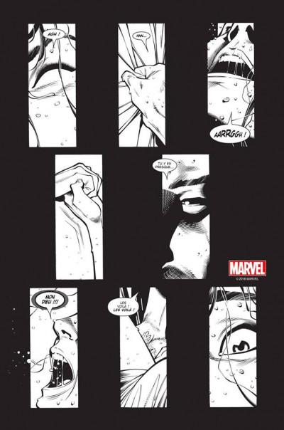 Page 1 House of M (noir et blanc)