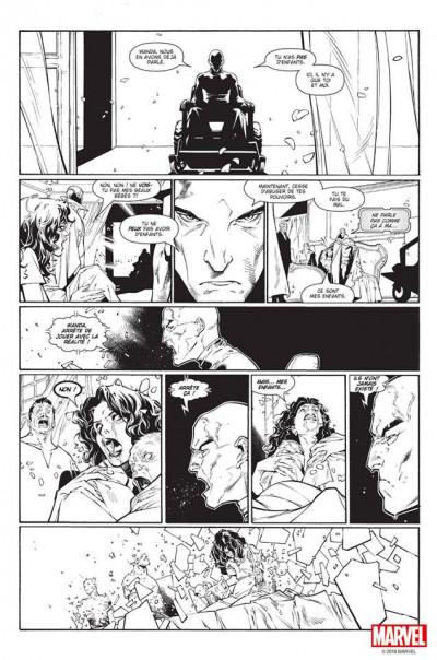 Page 3 House of M (noir et blanc)