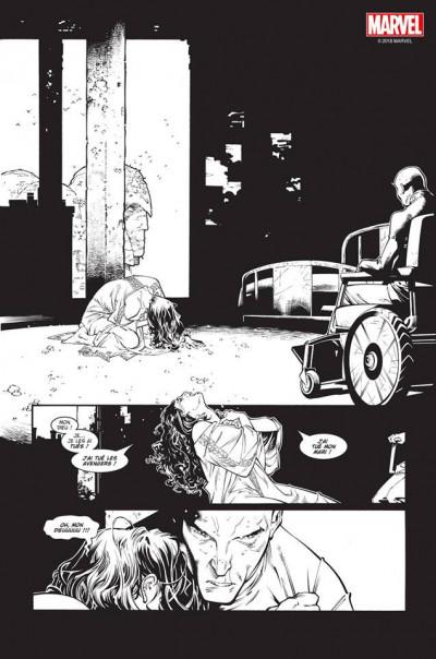 Page 4 House of M (noir et blanc)