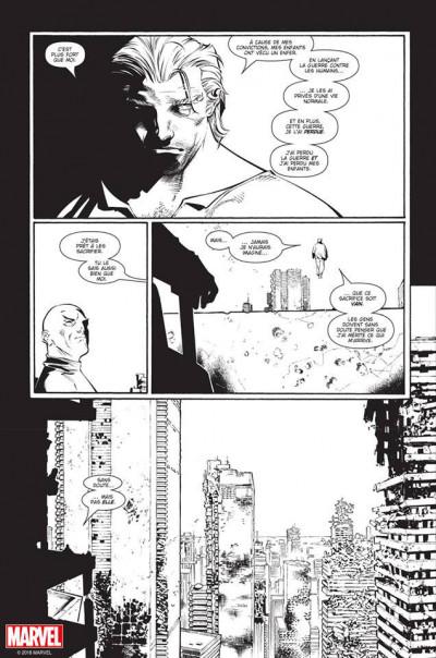 Page 6 House of M (noir et blanc)