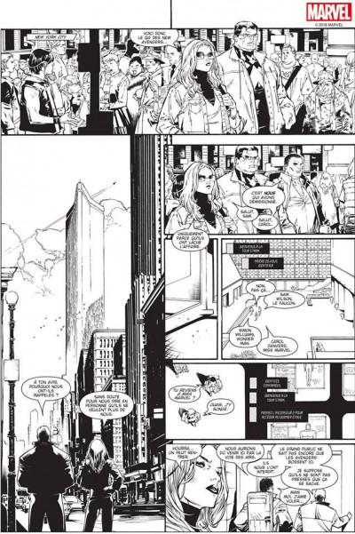 Page 7 House of M (noir et blanc)