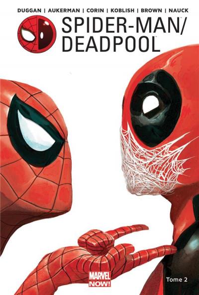 Couverture Spider-man / Deadpool tome 2