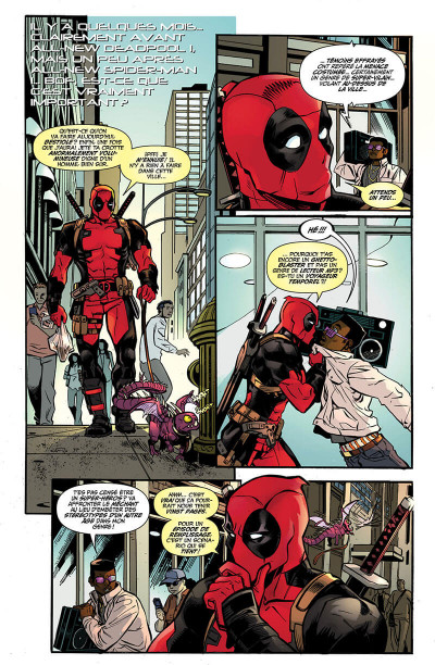 Page 6 Spider-man / Deadpool tome 2