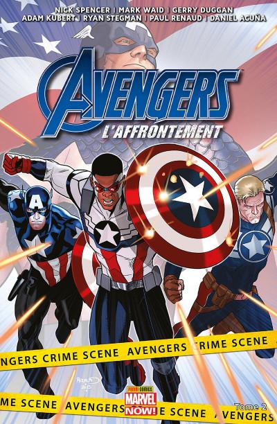 Couverture Avengers l'affrontement tome 2