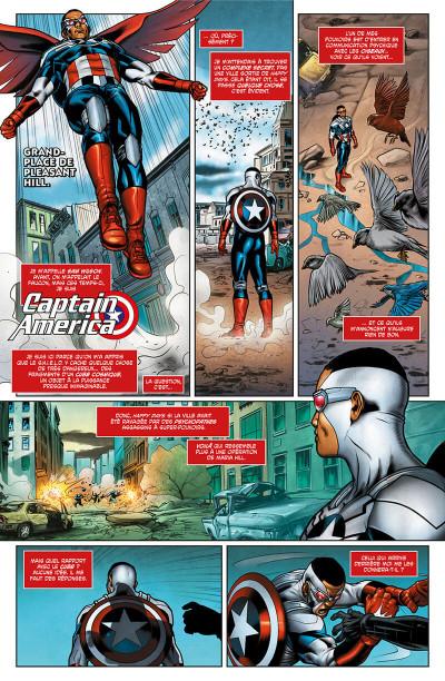 Page 6 Avengers l'affrontement tome 2