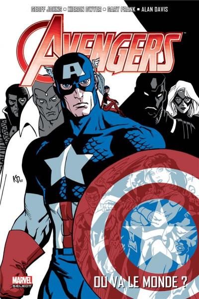 Couverture Avengers par Geoff Johns tome 1