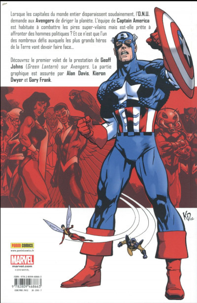 Dos Avengers par Geoff Johns tome 1