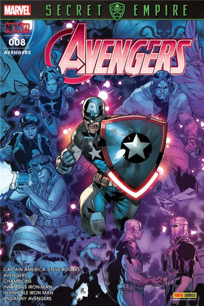 Couverture Avengers tome 8
