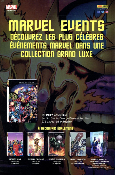 Dos Avengers tome 8