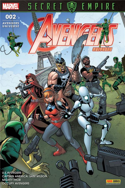 Couverture Avengers universe tome 2