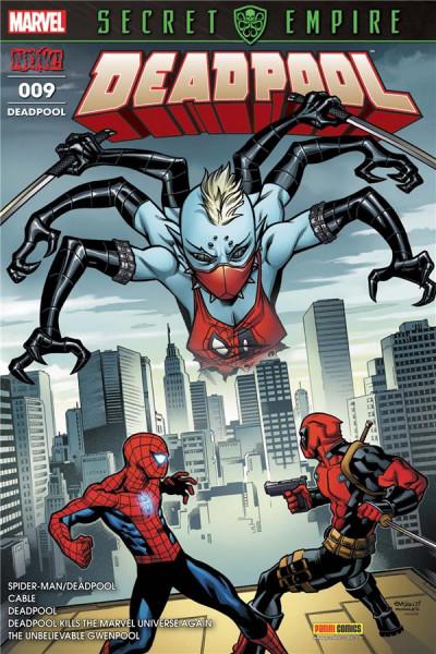 Couverture Deadpool tome 9