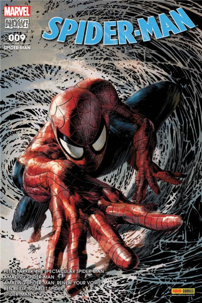 Couverture Spider-man tome 9