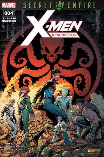 Couverture X-Men - Resurrxion tome 4