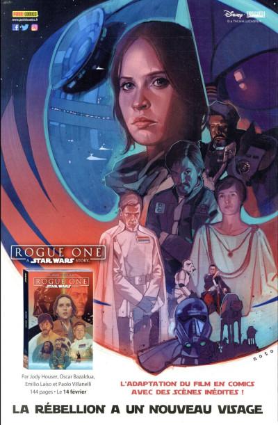 Dos Star wars - fascicule série 2 tome 5 (couverture 1/2)