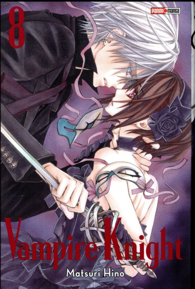 Couverture Vampire knight - édition double tome 8