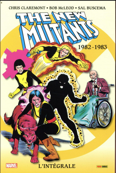 Couverture The new mutants - intégrale tome 1 - 1982-1983
